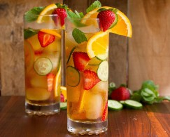 Pimm's Turbo Cocktail