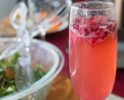 Pomberry Limoncello Sparkling Cocktail